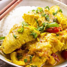 Recipes - Coconut fish curry