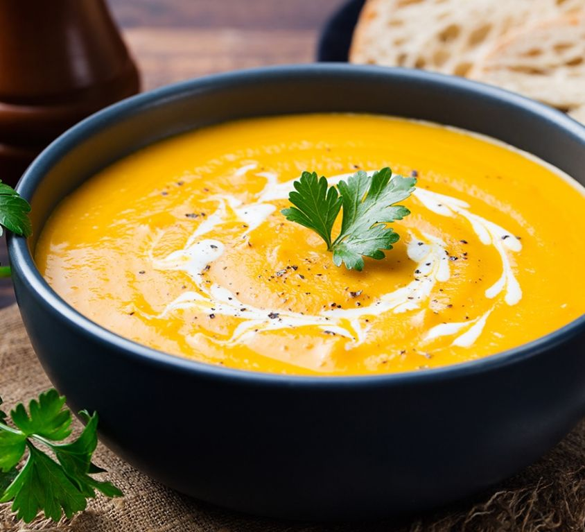 Recipes - Pumpkin soup