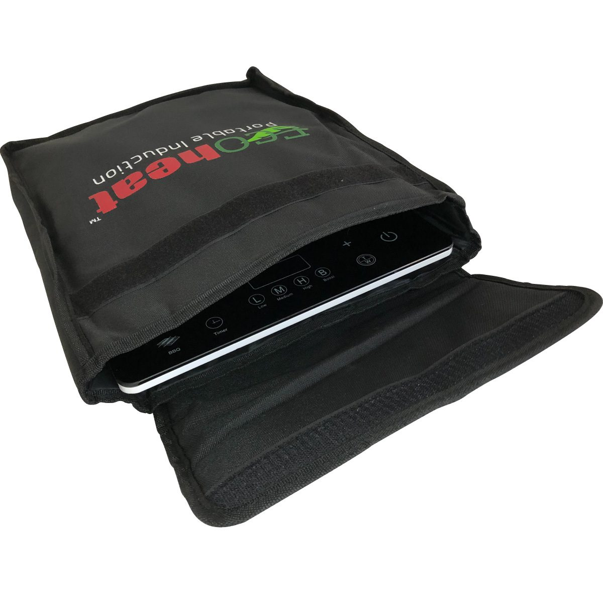 Ecoheat Induction cooktop carry travel bag with Ecoheat Smarttouch
