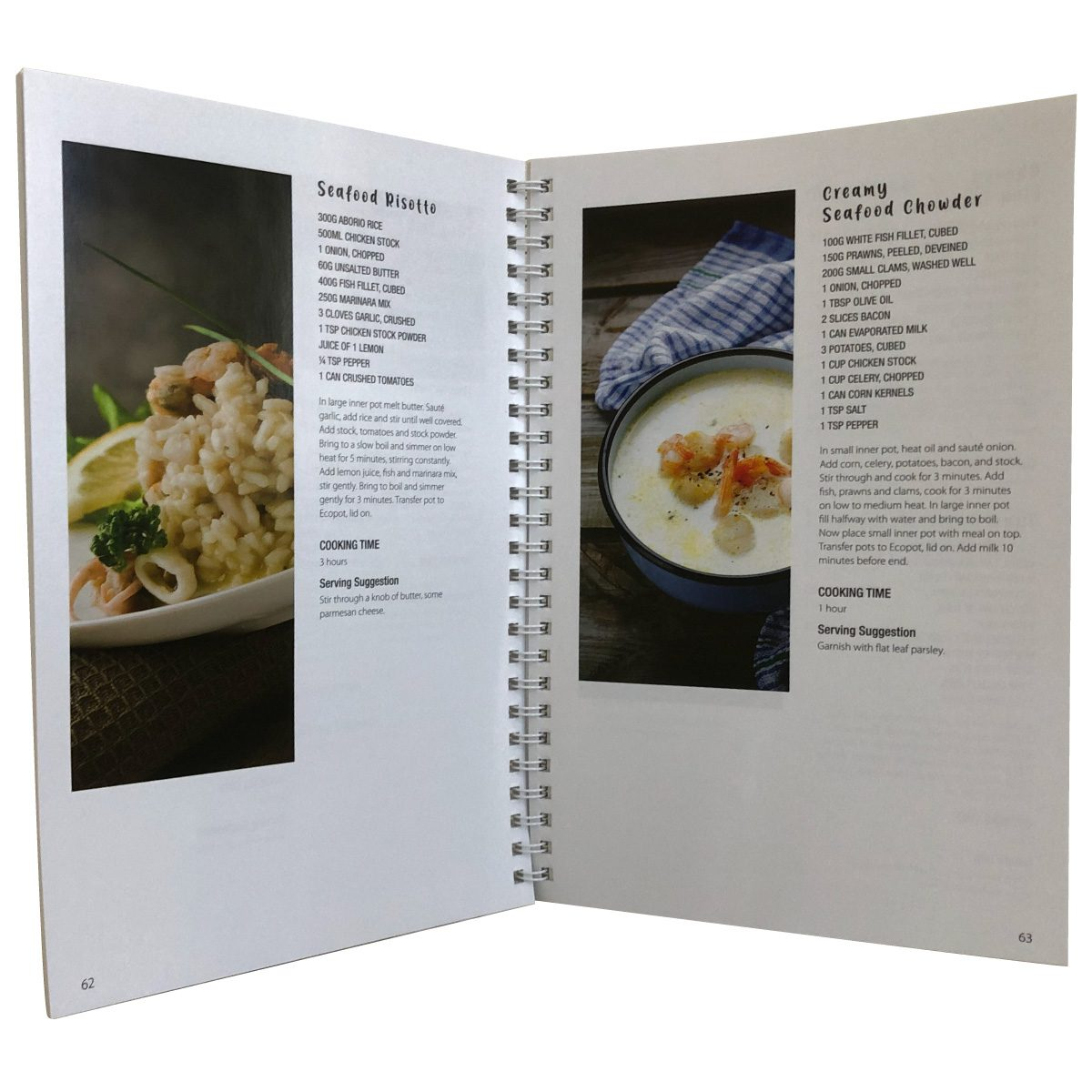New Ecopot cookbook - full of great recipes