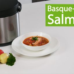 Ecopot thermal cooker - video recipe: Basque Style Salmon