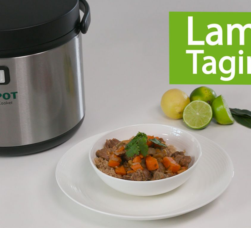 Ecopot thermal cooker - video recipe: Lamb Tagine