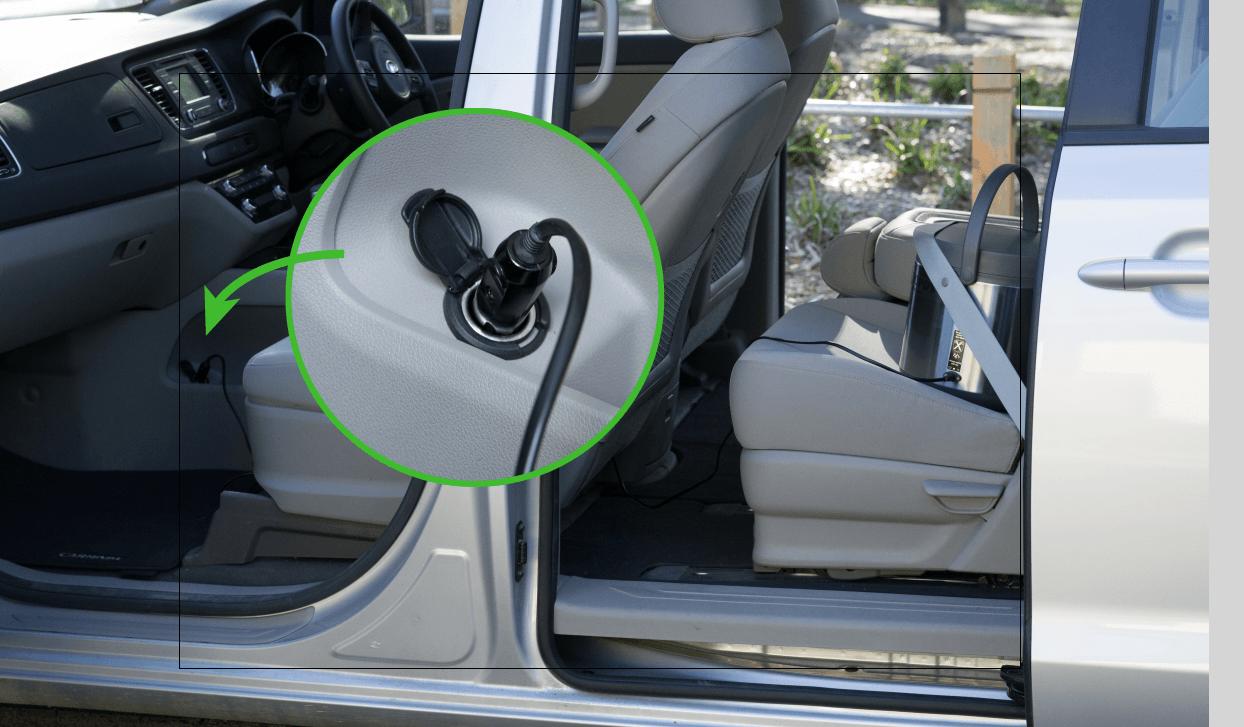Ecopot 24/7 12v car adapter