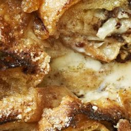 Dessys bread and butter pudding